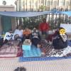 أطر إدارة تابعة لوزارة الحقاوي يعتصمون أمام عمالة تزنيت بعد توصلهم بشيكات بدون رصيد