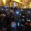 """""""المتعاقدون"""" ينهون اعتصامهم الليلي وسط دعوات لتجديد الاحتجاج غدا"""