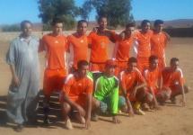 تأهل فريق نجوم أيت بومريم لكرة القدم إلى نصف النهائي في دوري إبضر لكرة القدم