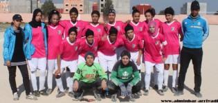 فريق خطوة سيدي افني لكرة القدم النسائية يستعد للموسم المقبل