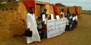 أباء وأولياء تلاميذ مدرسة ابتدائية بمير اللفت يحتحتون ويُهددون بالتصعيد ضد المديرية الإقليمية
