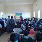 دار الطالب (ة) وملحقة بوطروش الإعدادية يحتفلان بحلول السنة الأمازيغية الجديدة