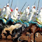تنظيم المباريات ما بين الجهات في الفروسية التقليدية بكلميم