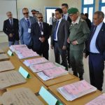 عامل إقليم سيدي إفني يتفقد مراكز إجراء امتحانات الباكالوريا