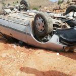 سيدي إفني ... صور لحادثة سير بطريق