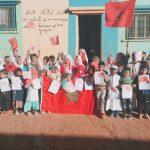 سيدي إفني ... مؤسسات تعليمية بإمجاض تحتفل بالذكرى 43 للمسيرة الخضراء