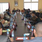 عامل إقليم سيدي إفني يحث رؤساء الجماعات الترابية في موضوع التعمير