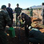 تيزنيت ... إعطاء انطلاقة عمليات أشغال تخليف شجرة الأركان على مساحة 100 هكتار