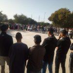 إثر مقتل طالب جامعي ينحدر ضواحي تيزنيت .. الطلاب يحتجون والأمن يمنع المسيرة
