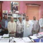 اللجنة التحضرية لتأسيس عصبة كلميم واد نون تلتقي رئيس جماعة سيدي إفني