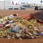 كارثة بيئية بمدينة سيدي إفني على مقربة من خيمة مهرجان