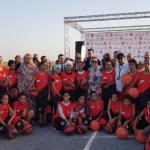 إحداث مشروع مركز رياضي لكرة السلة بمؤسسة إعدادية بكلميم 