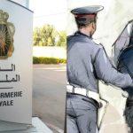 الدرك الملكي يعتقل 08 شبان لخرقهم حالة الطوارئ الصحية