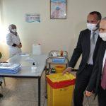 عامل سيدي إفنـي يتفقد مراكز التلقيح ضد فيروس كورونا