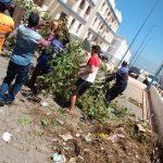 سيدي إفني .. مشروع إقامة أناروز يشهد أول حملة نظافة خلال شهر رمضان