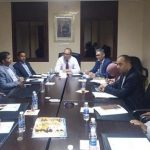 النقابة الوطنية للصحافة المغربية يجتمع مع مدير أكاديمية كلميم واد نون للتعليم