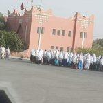 إقليم كلميم .. مواطنون يحتجون ويطالبون باستتباب الأمن